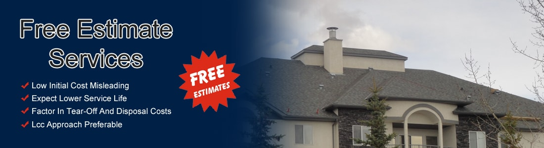 Free Calgary Roof Estimates | Royal Roofing Ltd. | Royal Roofing