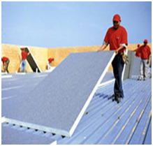 ... Through The Highest R Value Ratings Per Inch Versus Other Insulation  Materials And Is Compatible With All Types Of Commercial Roofing Systems.