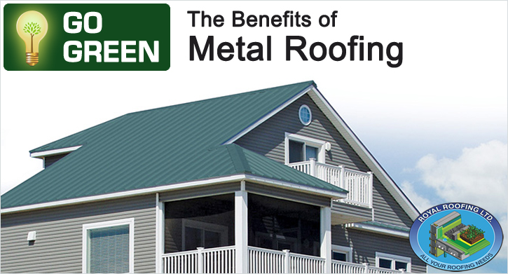 Beautiful Go Green   The Benefits Of Metal Roofing
