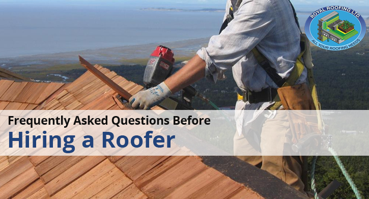 Frequently Asked Questions Before Hiring a Roofer
